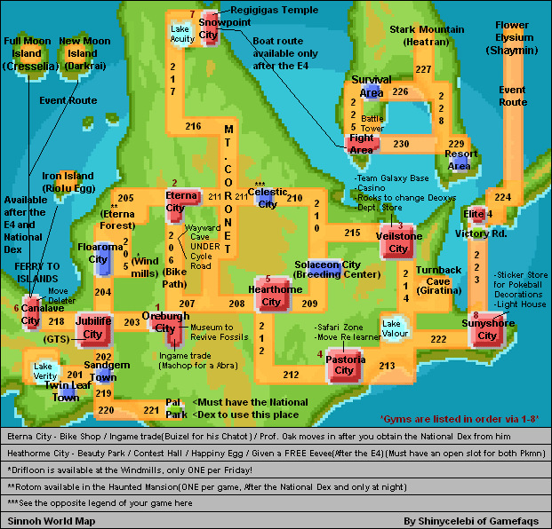 Pokemon how to get map