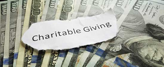 gifts to charity irs instructions