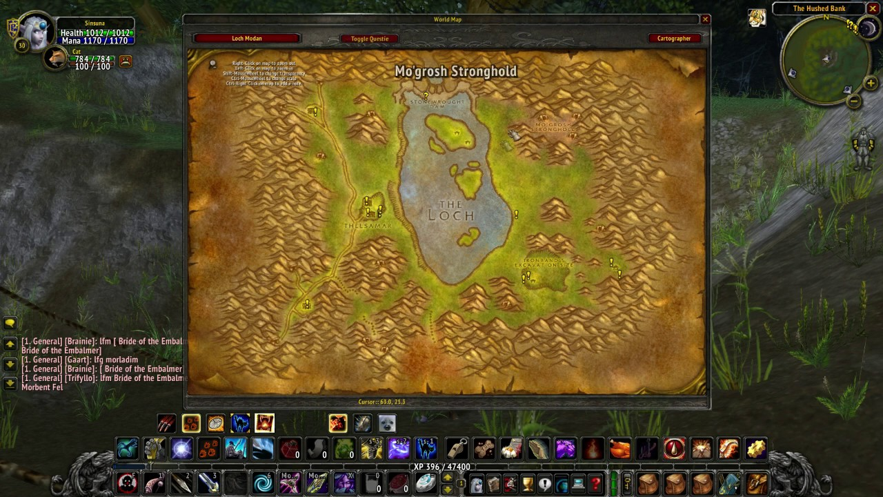 Alliance levelling story guide wow