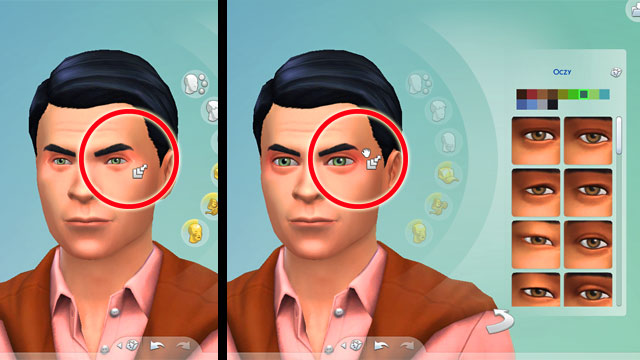 Sims 4 how to change face in game