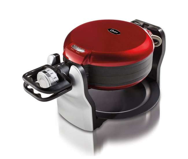 Oster double flip waffle maker manual