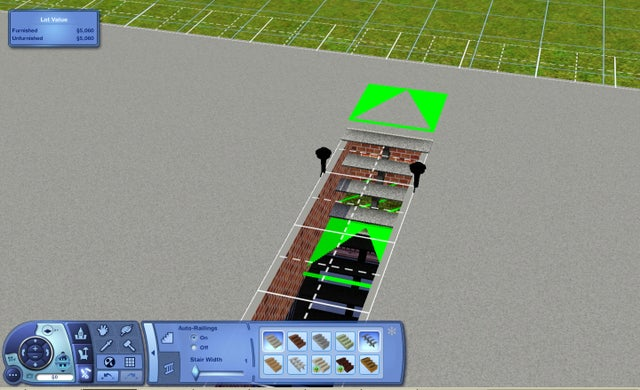 The sims 3 how to build basement with foundation