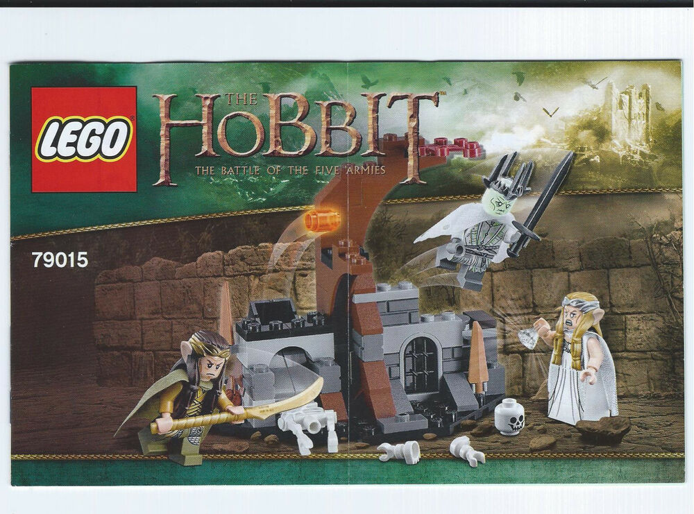 lego battle of the five armies instructions