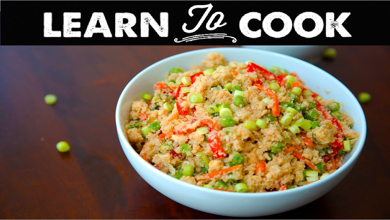 Steps on how to cook fried rice