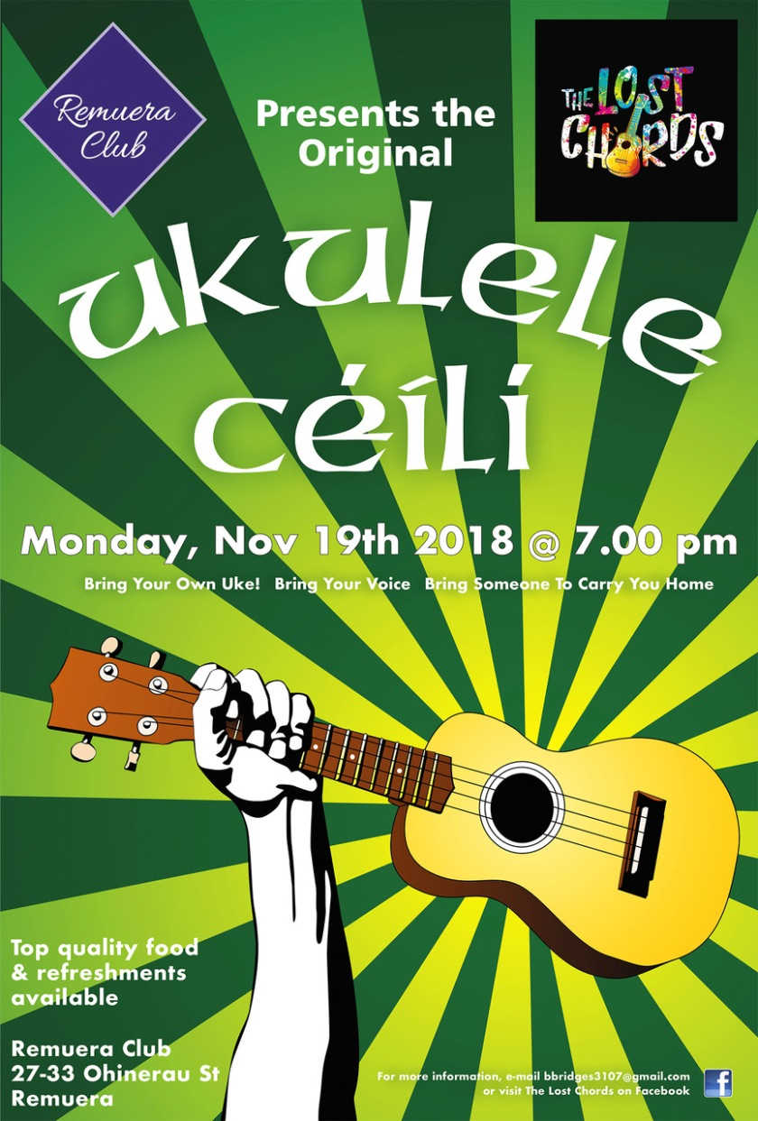 Ukulele clubs or groups that have a songbooks pdf 2018