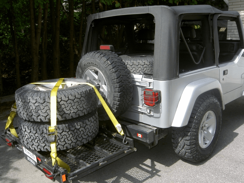 Jeep tj how to know carrier size