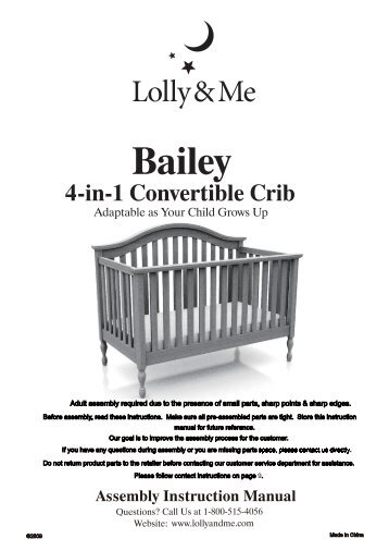 Bootiq annabelle cot instructions