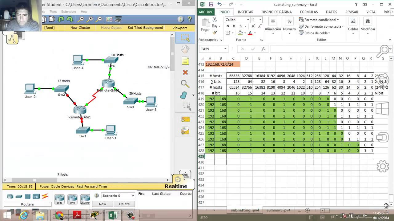 packet tracer designing and implementing a vlsm addressing scheme instructions
