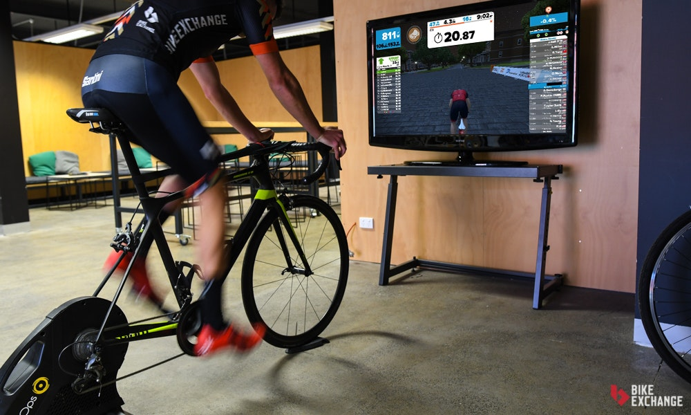 elite cycle trainer instructions