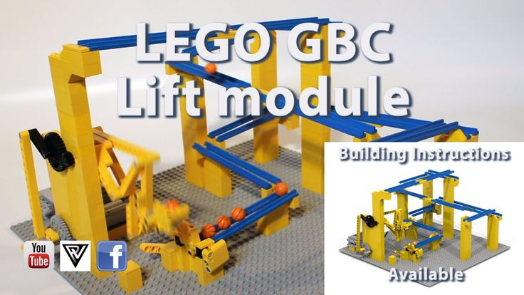 instructions to make a lego marble pump