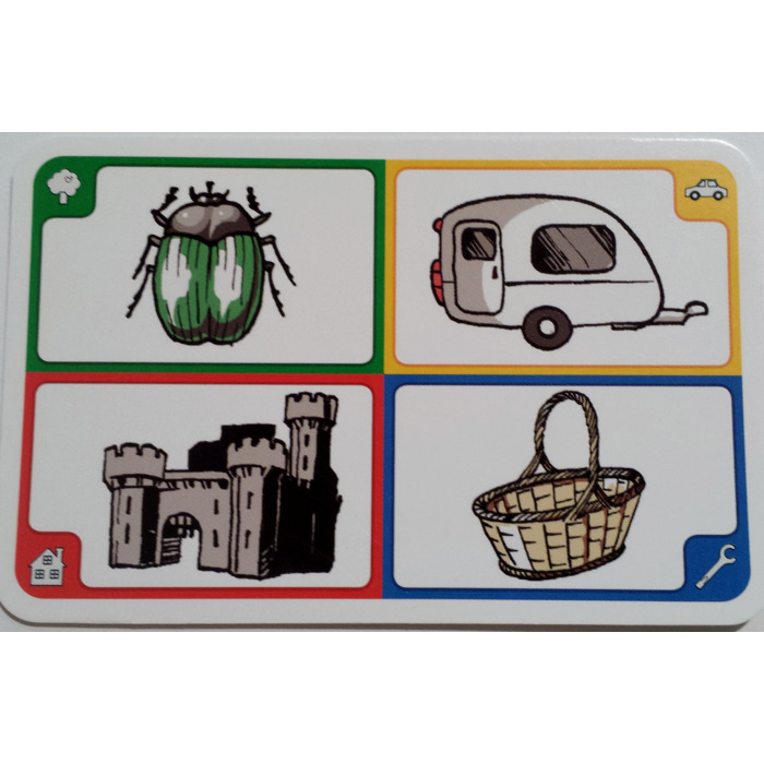 Lego creationary cards and instructions