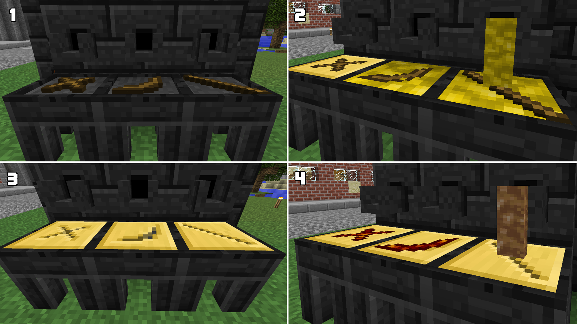 Minecraft tinkers construct how to give tools xp with commands