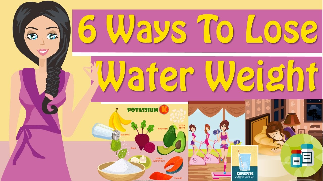 Myproana how to get rid of water weight