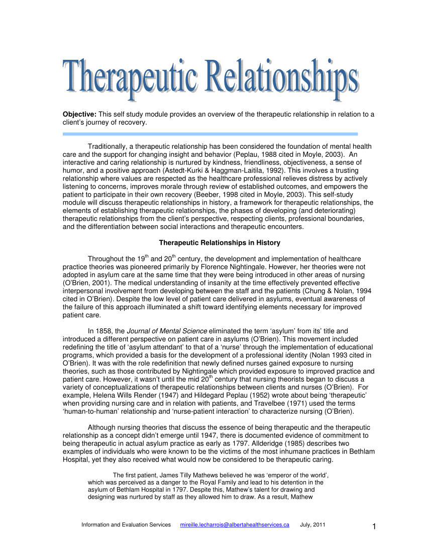 On being a therapist pdf