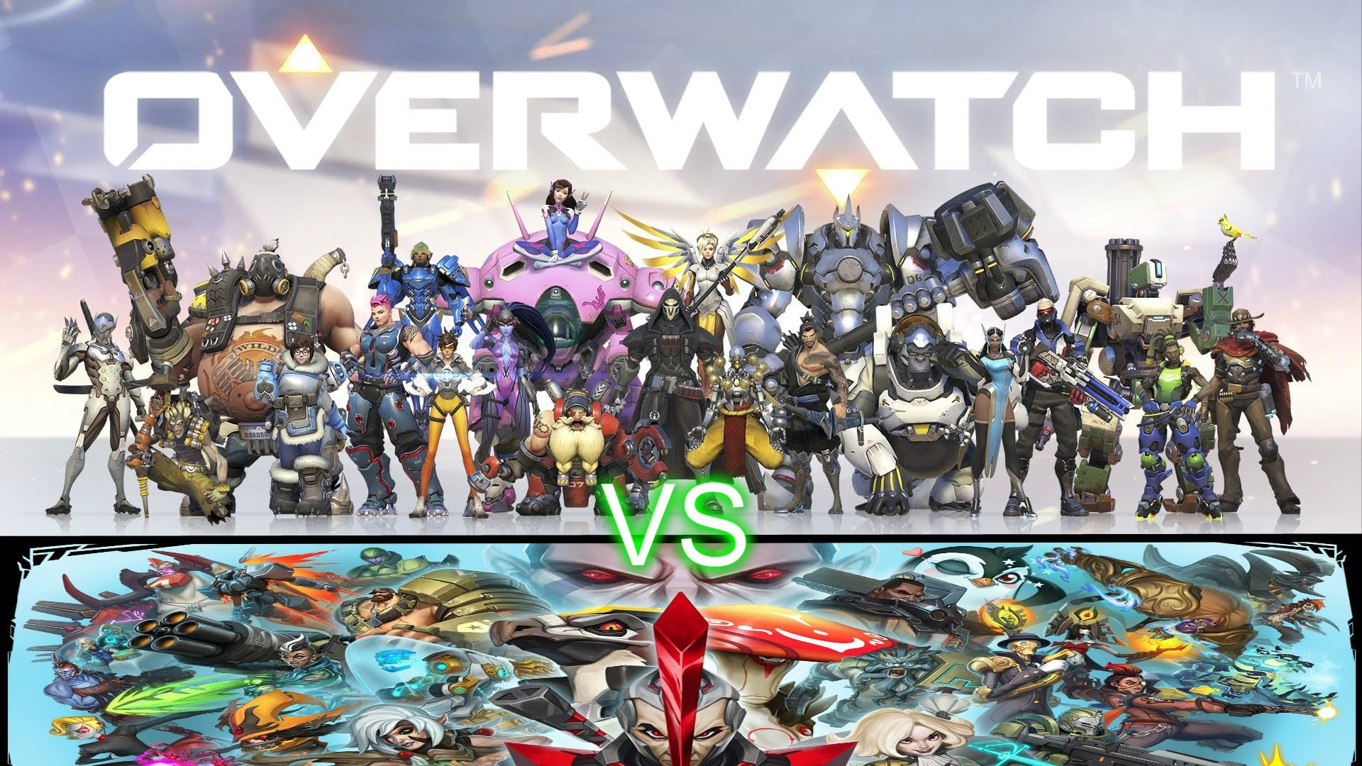 Overwatch how to choose which hero to show on background