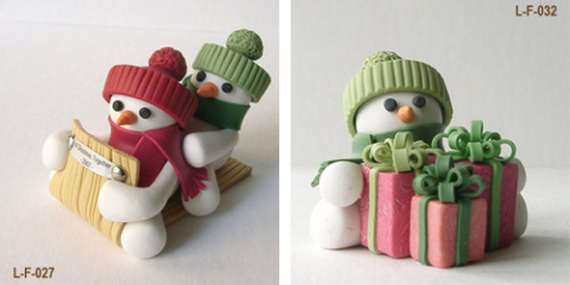 Polymer clay christmas ornaments instructions